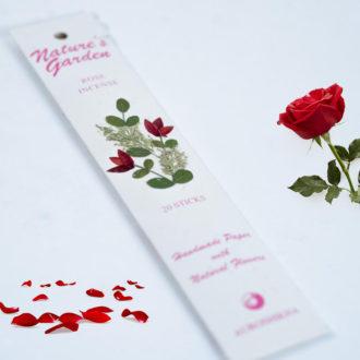 Bețișoare parfumate naturale premium, Trandafir