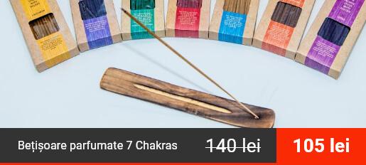 Bețișoare parfumate 7 Chakras, Pachet 7 Arome